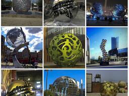 Ажурная скульптура шары под заказ в Китае фабрика