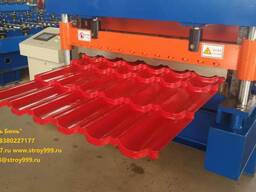 ХИТ станок для изготовления металлочерепицы модульной, КНР