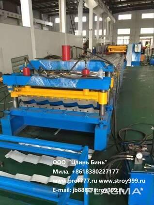 Хорошая линия для производства металлочерепицы, Китай