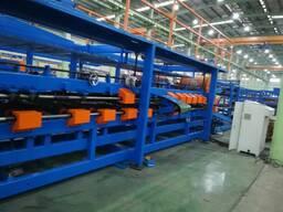 Как производится сэндвич панель на производственной линии