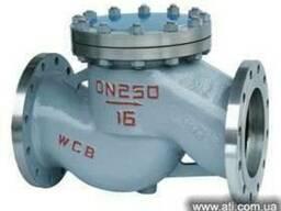 Клапан обратный подъемный фланцевый стальной 16с10нж