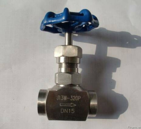 Клапаны игольчатые нержавеющие муфтовые Ру320 Ду15 в Китае