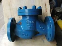 Клапаны обратные подъемные стальные 16с10нж Ру25 Ду80 цена