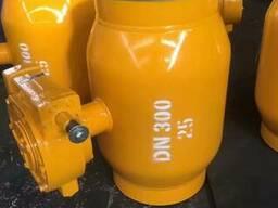 Кран шаровой цельносварной с плавающим шаром Ру25 Ду300