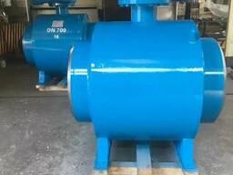 Кран шаровой цельносварной стальной под приварку Ру16 Ду700
