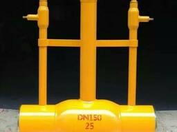 Кран шаровой цельносварной стальной подземный Ру25 Ду150