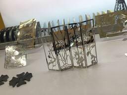 Лазерное оборудование для резки металлических заготовок и де