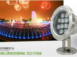 LED светодиодные светильники для фонтанов бассейнов оптом