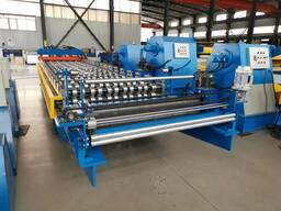 Оборудование по изготовлении металлочерепицыRuukki Adamante