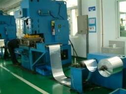 Линия для изготовления радиаторов машин