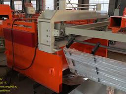 Линия для поперечной и продольной резки металла, КНР