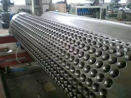 Линия по производству дренажной мембраны