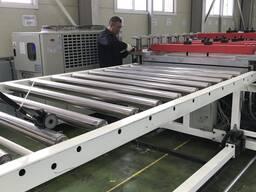 Линия для производства вспененного листа из ПВХ(ДПК)