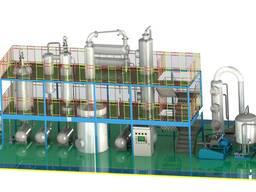Оборудование для утилизации отработанных масел и жиров