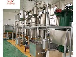 Оборудование для рафинации технического жира, подсолнечного, соевого и хлопкового масла