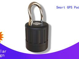 Logistic Security Electronic Smart GPS Padlock Bluetooth APP Remote Control