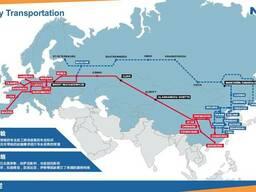 Мультимодальные перевозки Китай-Dushanbe