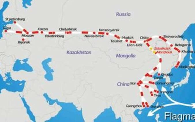 Мультимодальные перевозки Китай-Kurgan-Tube