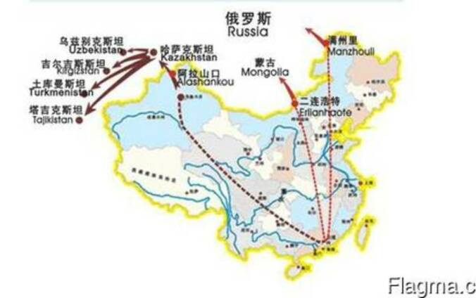 Мультимодальные перевозки Китай-Dzhambul