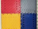 Напольные покрытия для гаража размер 25*25см,30см*30см, вес - фото 6