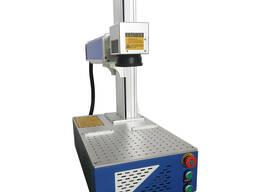 Настольный оптоволоконный лазерный маркер по металлу
