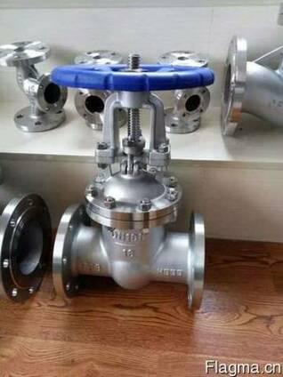 Нержавеющие задвижки, вентили, клапаны обратные, фильтры в н