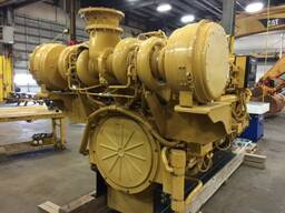 New CAT marine propulsion engine 3516 C-HD / SCAC