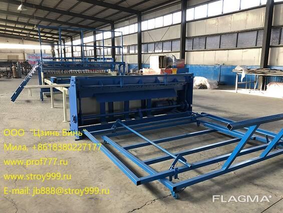 Оборудование для изготовления строительных сеток, Китай
