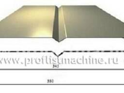 Оборудование для металлического сайдинга Софит 345 в Китае