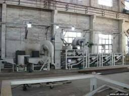 Оборудование для обрушения и сепарации семян подсолнечника