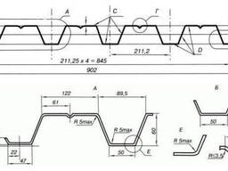 Купить оборудование для производства профнастила модель HC60 из Китая