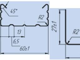 Оборудование по профили с сечкой кнауф 27x60 и 27x28 из Кита