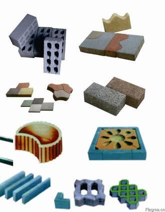 Оборудование по производству брусчатки и бетонных блоков QF4
