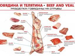Отруба говядина оптом