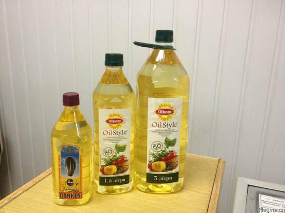 "Подсолнечное масло"" данкен"" для фритюра"