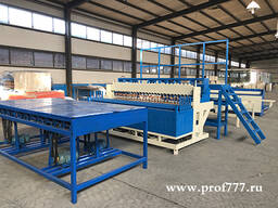 Полноавтоматическая линия по производству сварной сетки модель 2400