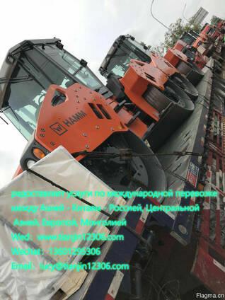 Предоставляет услуги по международной перевозке между Азией