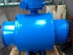 Q367F-Кран шаровой цельносварной полнопроходной Ру16 Ду500