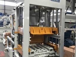 QGM QT6 автоматический вибропресс с формовкой на поддон