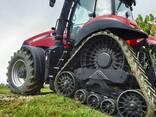 """Резиновая гусеница на Case Rowtrac 36"""" и трактор - фото 2"""