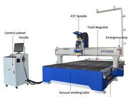 SIGN-2030 ATC деревообрабатывающий фрезерный станок с ЧПУ