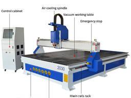 SIGN-2030 Фрезерный станок с ЧПУ с вакуумном столом синего