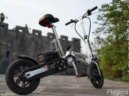 Складной мини электро-велосипед
