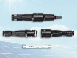 Solar 1500VDC inline fuse MC4 connector