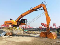 Стационарный перегружатель леса, металлолома, сыпучих материалов XYG600