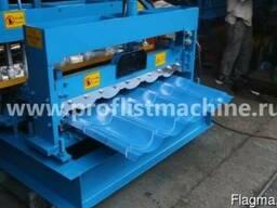 Станок для изготовления металлочерепицы 840 в Китае - фото 1