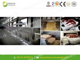 СВЧ установки для сушки и стерилизации продукта питания