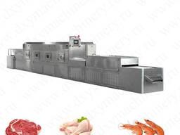 СВЧ установки для сушки и обезжиривания мяса
