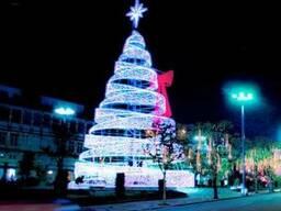 Световая уличная елка 2018 из китая оптом - фото 1