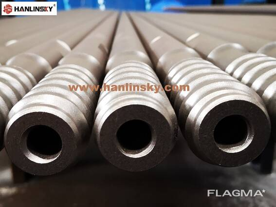 T38 T45 T51 drill rods for Tophammer Drilling Rigs